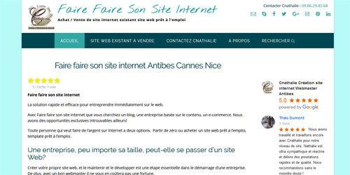 Un site internet pas cher